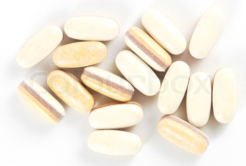 bean shape pills for content and fill improvement
